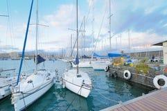 Circolo Nautico NIC Porto di Catania - Sicilia Italy Italia - Creative Commons by gnuckx Royalty Free Stock Photo