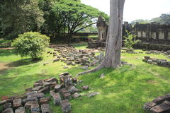 Circondare del tempio di Bapourn Immagine Stock Libera da Diritti