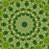 Circondi il fondo sintetico caleidoscopico di arte, la geometria complessa Fotografia Stock Libera da Diritti