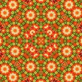 Circondi il fondo sintetico caleidoscopico di arte, la geometria complessa Fotografia Stock