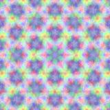 Circondi il fondo sintetico caleidoscopico di arte, la geometria complessa Immagini Stock