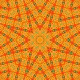 Circondi il fondo sintetico caleidoscopico di arte, la geometria complessa Fotografie Stock Libere da Diritti