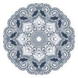 Circondi l'ornamento, merletto rotondo ornamentale Immagini Stock Libere da Diritti
