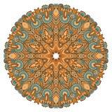 Circondi l'ornamento, merletto rotondo ornamentale Fotografie Stock Libere da Diritti