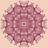 Circondi l'ornamento, merletto rotondo ornamentale Immagini Stock