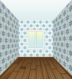 Circondi la stanza con un rinnovamento fresco Fotografia Stock