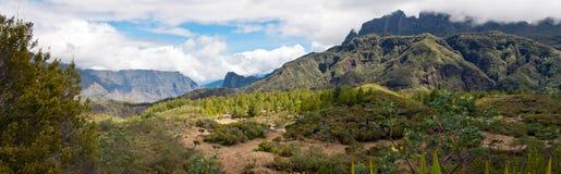 Circque de Mafate landscape Royalty Free Stock Photo