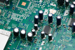 Circuit électrique Photos stock