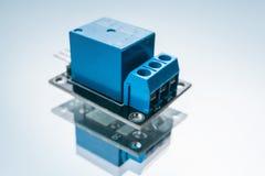 Circuit électrique de dispositif électronique de relais images libres de droits