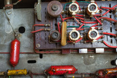 Circuit électrique obsolète Photographie stock