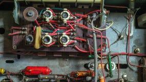 Circuit électrique obsolète Image stock