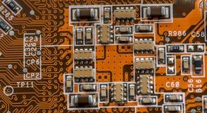 Circuit électronique électronique Photo libre de droits