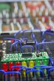 Circuit électronique Images stock