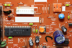 Circuit électronique Photographie stock
