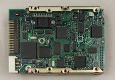 Circuit électronique et panneau de puce Images stock