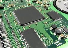 Circuit 1 d'unité de disque dur Photo stock
