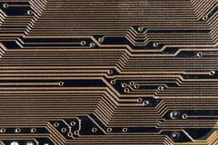Circuit. Motherboard Stock Image