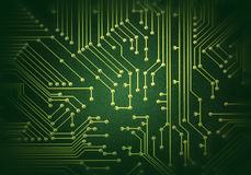 Circuit. Motherboard part,abstract electric circuit Royalty Free Stock Photo