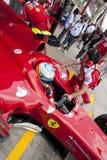 Circuit 2010 de rue de F1 Valence Photographie stock libre de droits