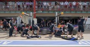 Circuit 2010 de rue de F1 Valence Photo stock