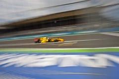 Circuit 2010 de rue de F1 Valence Photo libre de droits
