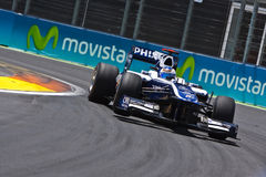 Circuit 2010 de rue de F1 Valence Photos libres de droits