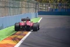 Circuit 2010 de rue de F1 Valence Image libre de droits