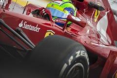 Circuit 2012 de rue de Valence Photographie stock libre de droits