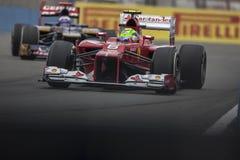 Circuit 2012 de rue de Valence Photo stock