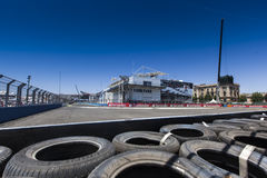 Circuit 2012 de rue de Valence Images libres de droits
