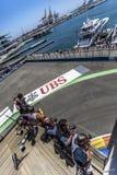 Circuit 2012 de rue de Valence Photographie stock
