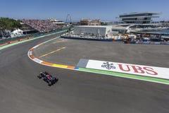 Circuit 2012 de rue de Valence Photo libre de droits