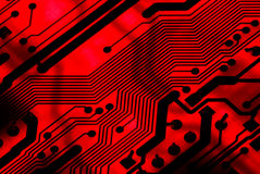 Circuit Background Royalty Free Stock Photos