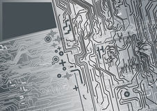 Circuit background. Microscopic electronically wire background designed for your business Royalty Free Stock Images