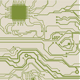 Circuit background Royalty Free Stock Images