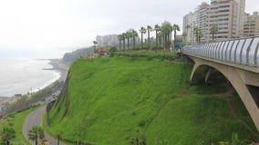 Circuit of the beaches seen from the bridge Mellizo Villena Rey Lima Peru