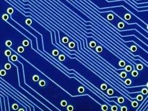 circuit bleu de panneau photos stock