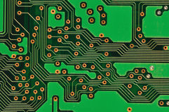 Circuit board. Macro image of circuit board Royalty Free Stock Image