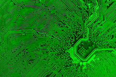Circuit Board. Change the colors as you like Stock Image