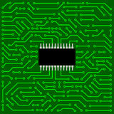 Circuit board. Close up of computer circuit board Royalty Free Stock Photo