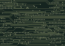 Circuit board. Seamless background with circuit board Royalty Free Stock Photos