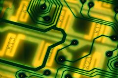 Circuit board 2 Royalty Free Stock Images