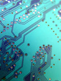 Circuit board. Electronic circuit board Royalty Free Stock Photography