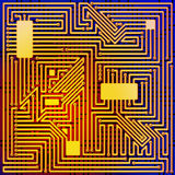 Circuit Board. Stock Photos