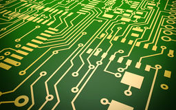 Circuit Board. Computer Circuit Board abstract background Stock Photos