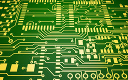 Circuit Board. Computer Circuit Board abstract background Royalty Free Stock Image