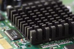 Circuit board. Close up of circuit board stock photography