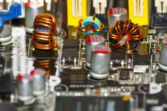 Free Circuit Board Royalty Free Stock Photography - 39221327