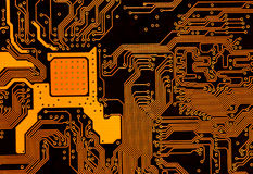 Circuit board Stock Photo