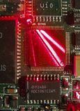 Circuit board. Close-up of circuit board Royalty Free Stock Photos